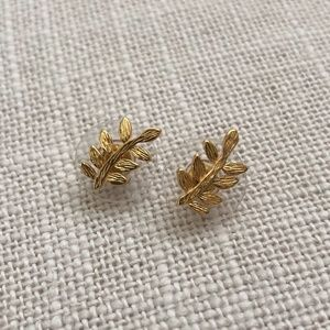 Kendra Scott Leaf Earrings